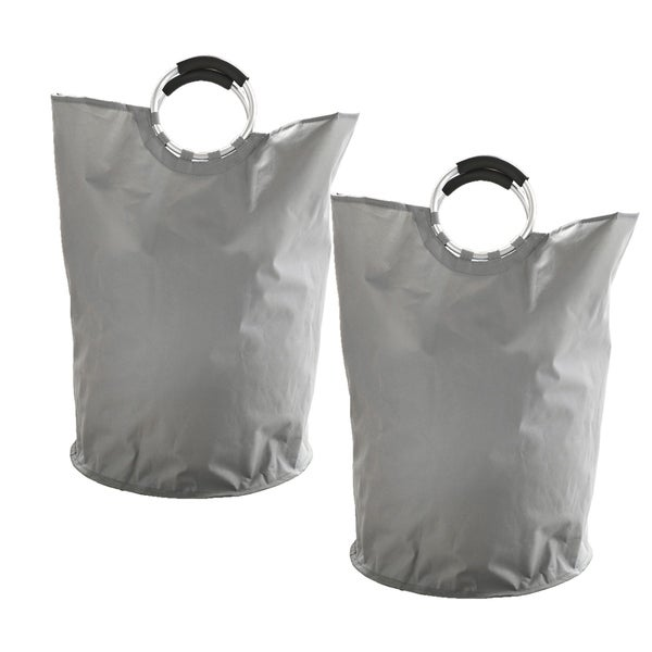 Hotel OXFORD 2 pack Laundry Bag in color Grey 36546049