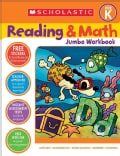Scholastic Reading & Math Jumbo Workbook Grade Pre-k (Paperback)
