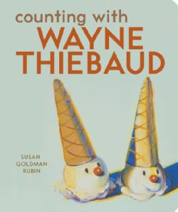 Counting With Wayne Thiebaud (Board book)