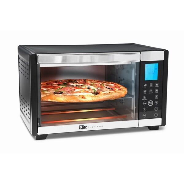 Elite Cuisine ETO-2800 6 Slice Convection Toaster Oven 36582876