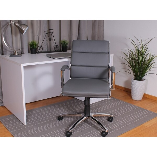 Boss Office Products Executive Mid-Back Chair 36583234
