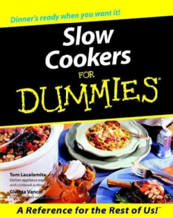 Slow Cookers for Dummies (Paperback)