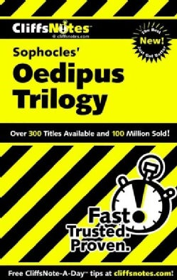 Cliffsnotes Sophocles' Oedipus Trilogy (Paperback)