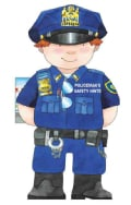 Policeman's Saftey Hints (Board book)