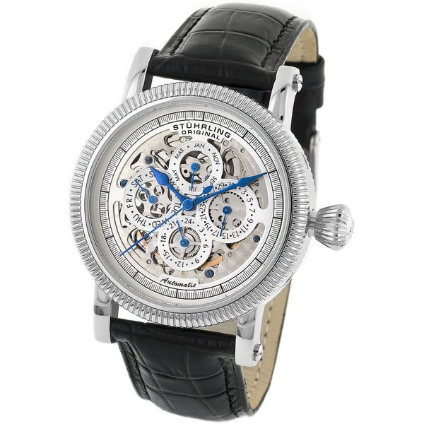 Stuhrling Original Men's Symphony Skeleton Automatic Watch