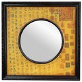 Circle in Square Calligraphy Mirror (China)
