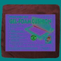 Hudson Pressure Eez Gel-foam Seat Cushions (16x16x2) (Pack of 4)