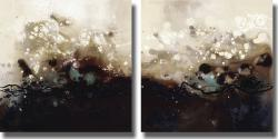 Laurie Maitland 'Constellations I and II' Canvas Art Set