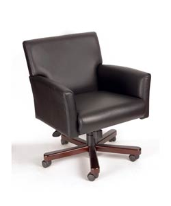 Boss Caressoft Executive Box Arm Chair