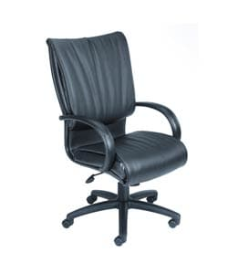 Boss High-back Bonded Leather Executive Chair