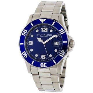 Stuhrling Original Clipper Men's Swiss Quartz Divers Watch