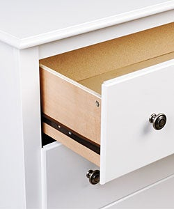 Winslow White 6-drawer Dresser
