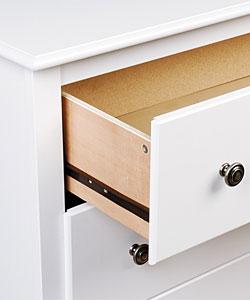Winslow White 6-drawer Lingerie Chest