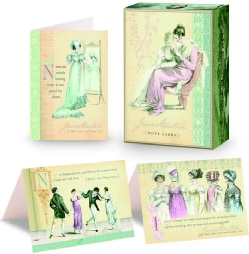Jane Austen Note Cards (Cards)