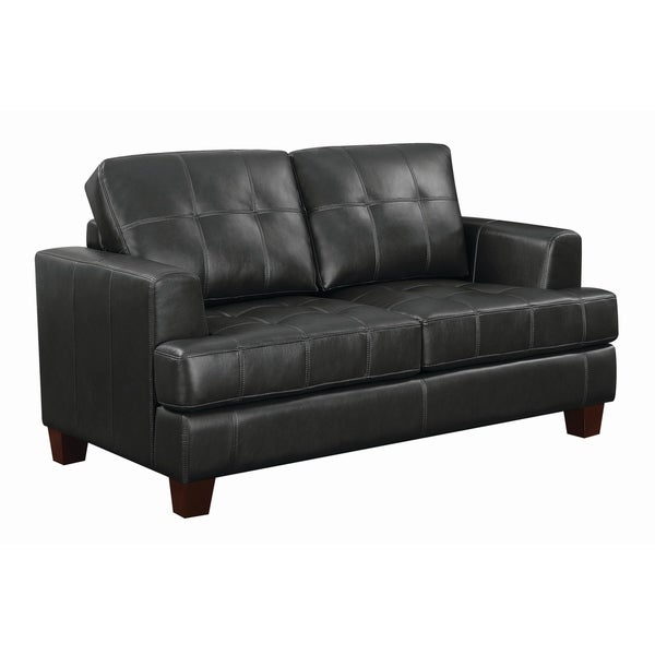 Samuel Transitional Loveseat Sleeper