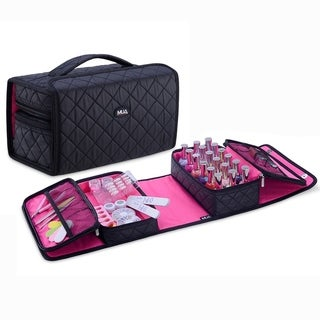 KIOTA Nail Polish Manicure Set Soft Storage Cosmetic Case Makeup Bag