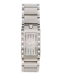 Movado Elliptica Women's Diamond Steel Watch