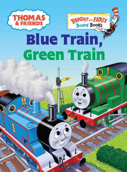Blue Train, Green Train (Board book)