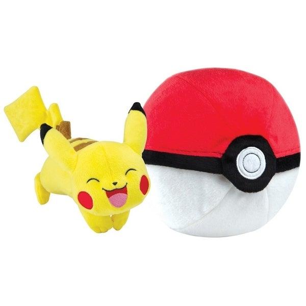 Pokemon Zipper Poke Ball Plush - Poke Ball/Pikachu 36757488