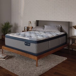 iComfort Blue Fusion 300 14-inch Plush Pillow Top Hybrid Mattress