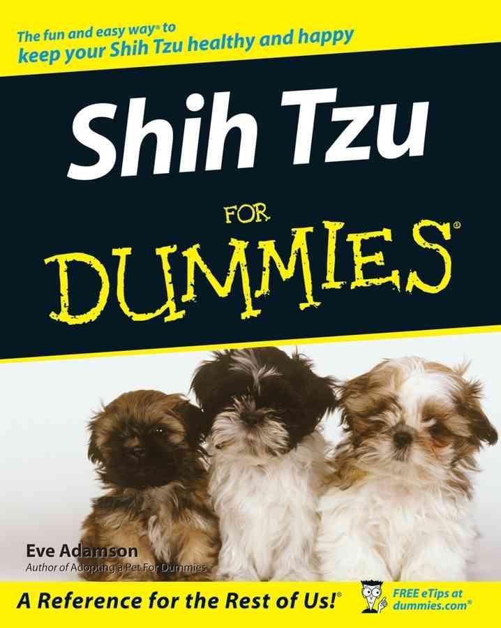 Shih Tzu for Dummies (Paperback)