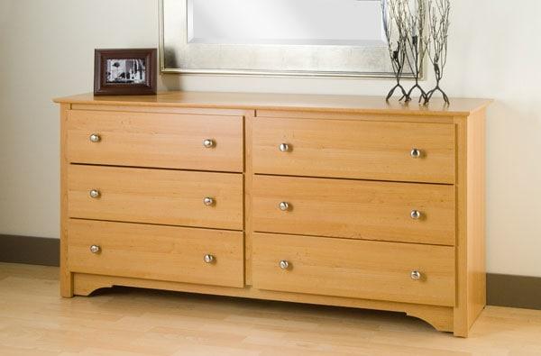 Montego Maple 6-drawer Dresser