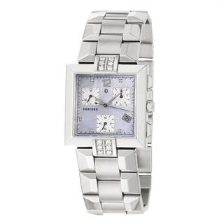 Concord La Scala Women's Blue Dial Steel Watch