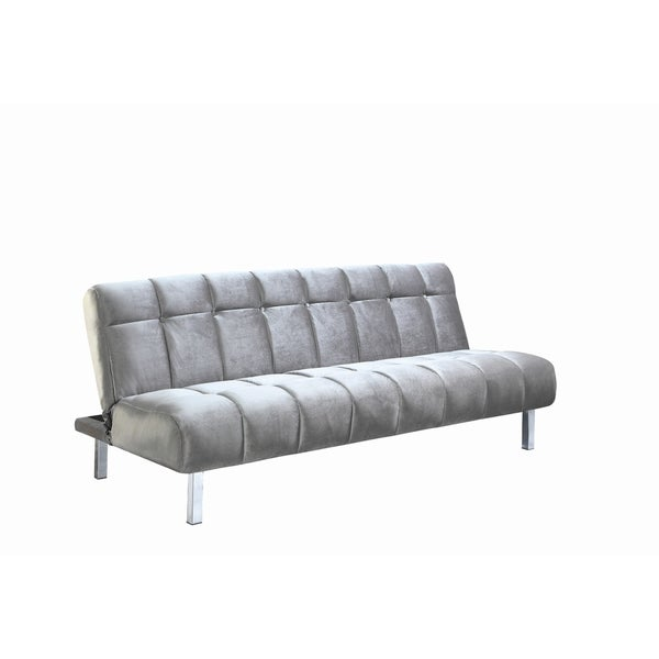 Contemporary Chrome Sofa Bed