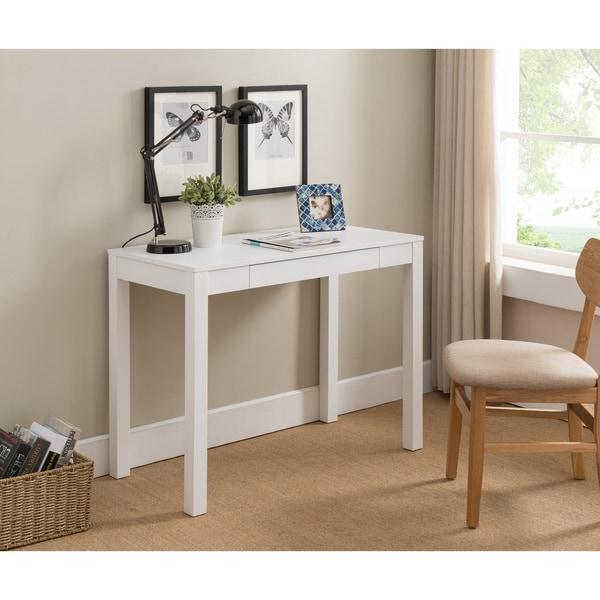 White Wood Desk 36862326