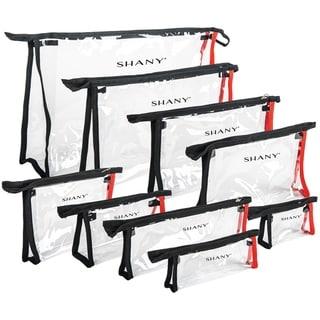 SHANY Clear Cosmetics Travel Bag Set- Waterproof - Assorted Sizes 9- Matryoshka