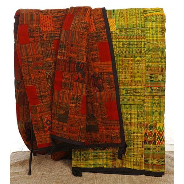 Handmade Patchwork Quilt (Guatemala)