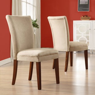TRIBECCA HOME Parson Classic Upholstered Dining Chair (Set of 2)
