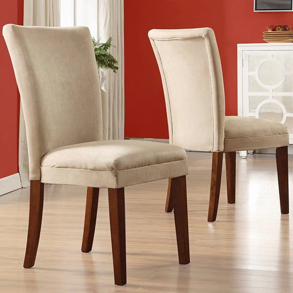 TRIBECCA HOME Parson Classic Upholstered Dining Chair (Set of 2) (As Is Item)