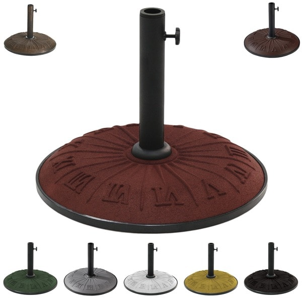 International Caravan Resin Compound Roman Numeral Umbrella Stand