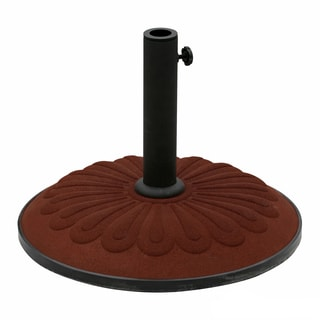 International Caravan Resin Sunflower Umbrella Base