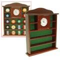 Billiard Ball Holder Solid Wood Quartz Clock