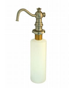 Satin Nickel Soap Dispenser with Teapot Spout