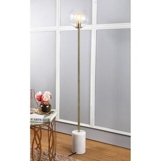"Safavieh Lighting 61-inch Bradley Gold Edison Bulb Floor Lamp - 8.5"" x 8.5"" x 61"""