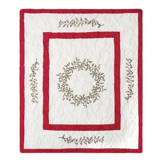 Holladay Garland Quilted Throw Blanket