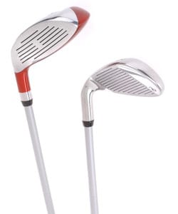 Delta Ladies Left Handed Pro Hybrid Golf Club Set