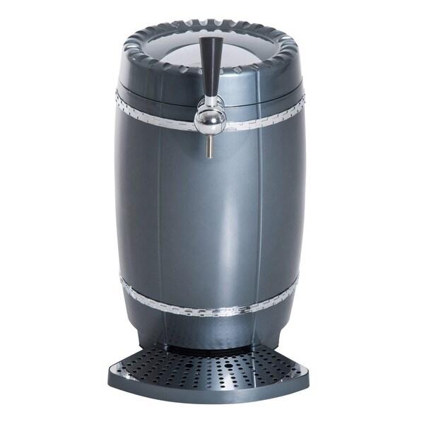 HomCom 10 Liter Mini Portable Kegerator Beer Cooler Dispenser