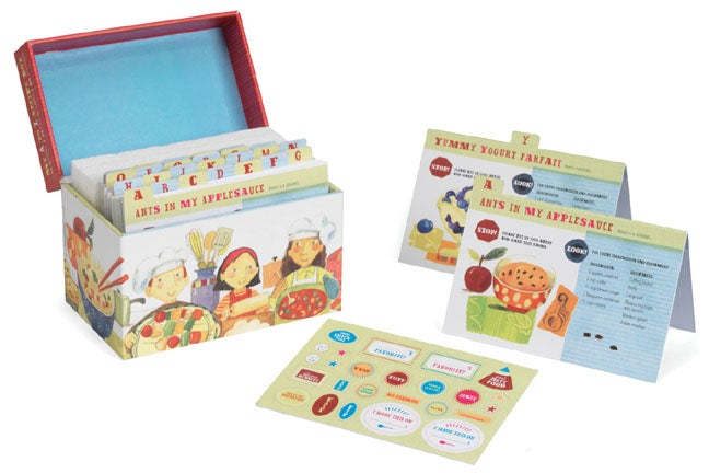 My A to Z Recipe Box: An Alphabet of Recipes for Kids (Hardcover)