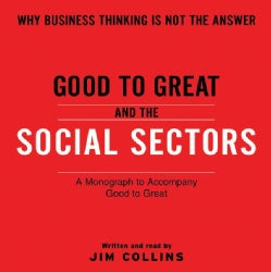 Good to Great and the Social Sectors (CD-Audio)
