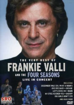 Frankie Valli and the Four Seasons: Live in Concert (DVD)