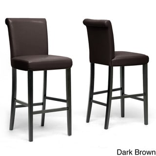 Fergie Faux Leather Bar Stools (Set of 2)