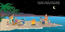 Good Night Hawaii (Board book)