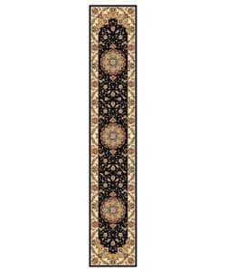 Safavieh Lyndhurst Collection Traditional Black/ Ivory Runner (2'3 x 12')