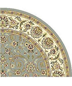 Safavieh Lyndhurst Oriental Light Blue/ Ivory Rug (5' Round)