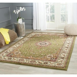 Safavieh Large Lyndhurst Collection Sage/Ivory Rug (8' x 11')
