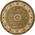 Lyndhurst Collection Sage/Ivory Area Rug (5' 3